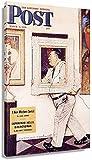 JRLDMD Laminas para Cuadros Norman Rockwell: Poster enmarcados Impresiones artísticas Ilustraciones Giclee impresión en Pared Decoracion de cumpleaños imágenes 50x70cm x1 Sin Marco