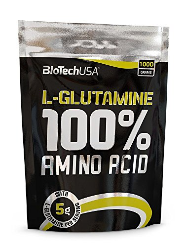 BioTech USA IAF00079116 100% L-Glutamine, 1000 g
