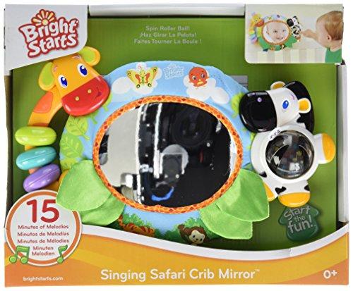Bright Starts, Singing Safari Crib Mirror