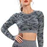 INSTINNCT Magliette Sportivi Donna Yoga Top Abbigliamento T-Shirt Sport Manica Lunga Senza Maniche Fitness Camicia Canotta Sportivo