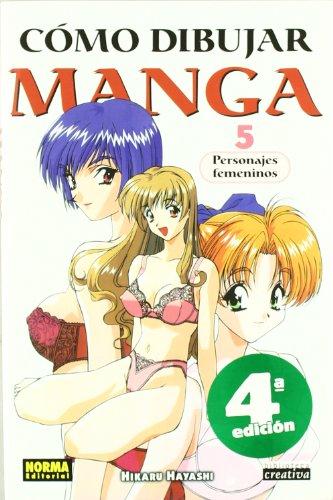 Como dibujar manga 5 Personajes femeninos / How to Draw Manga 5 Female Characters