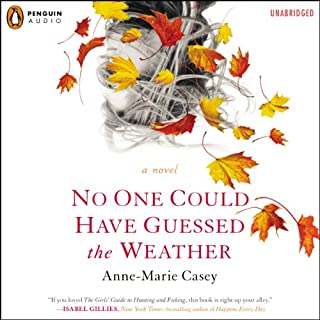 No One Could Have Guessed the Weather audiobook cover art