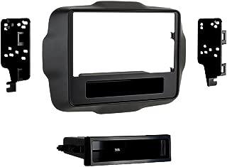 Metra 99-6532B Single DIN Dash Kit for 2015 - Jeep Renegade (Black)