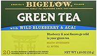 Bigelow Tea - 緑茶の野生のブルーベリーおよびAcai - 20 ティーバッグ(以前ブルーベリー)