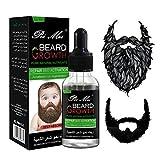 Beard Growth Oil, Natural Organic Hair Growth Oil Beard Oil Enhancer Facial Nutrition Moustache Grow...
