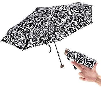 BOY Mini Umbrella Pocket Umbrella Lightweight Small Folding Umbrella Portable Easy to Carry for Girls,Stripe