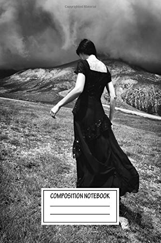 Composition Notebook: Landscapes Lady Of The Twin Mountains 51551 Wide Ruled Note Book, Diary, Planner, Journal for Writing