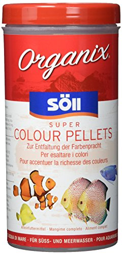 Söll Organix Super Colour Pellets - Aquariumfutter - Zierfischfutter - Pelletfutter