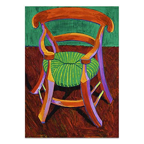 Nordic Vincent stuhl Gauguin stuhl leinwand malerei poster wandkunst Plakat für wohnzimmer dekoration