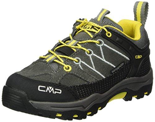 CMP Rigel - Scarpe da trekking e da passeggiata Unisex – Bambini , Nero (Schwarz (Graffite U887)), 30
