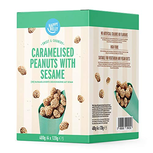 Happy Belly Cacahuetes Garrapiñados con Sésamo