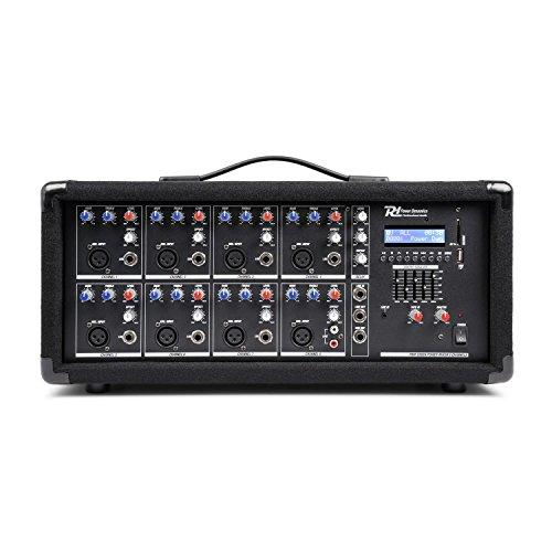 Power Dynamics PDM-C805A 8 kanaals mixer met ingebouwde versterker