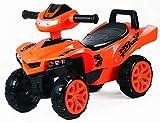 Toy House Racing Turbo Push ATV for Kids (1 to 3Yrs), Orange