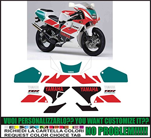 Kit adesivi decal stickers YAMAHA TZR 250 R 3XV 1991 (ability to customize the colors)