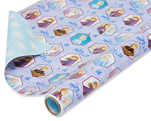 American Greetings Geschenkpapier, wendbar, Motiv Disneys