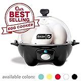 Dash Rapid Egg Cooker: 6 Egg Capacity Electric Egg Cooker for Hard Boiled Eggs, Poached Eggs,...