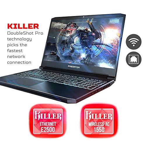 "2019 Acer Predator Helios 15.6"" FHD IPS Display Gaming Laptop | Intel 6-Core i7-9750H | 32GB RAM | 512GB SSD + 1TB HDD | NVIDIA GeForce GTX 1660Ti 6GB | Backlit Keyboard | Windows 10"