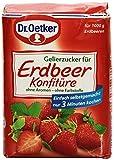 Dr. Oetker Gelierzucker für Erdbeer Konfitüre