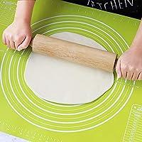 回転センター付きキッチンプロフェッショナル木製麺棒