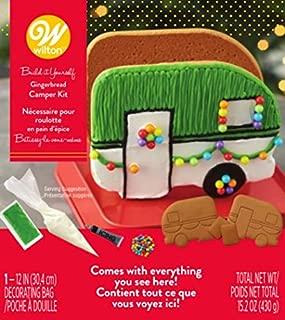 Wilton W46872 Unassembled Gingerbread Camper Kit