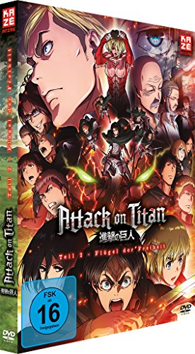 Attack on Titan - Anime Movie Teil 2: Flügel der Freiheit - [DVD]