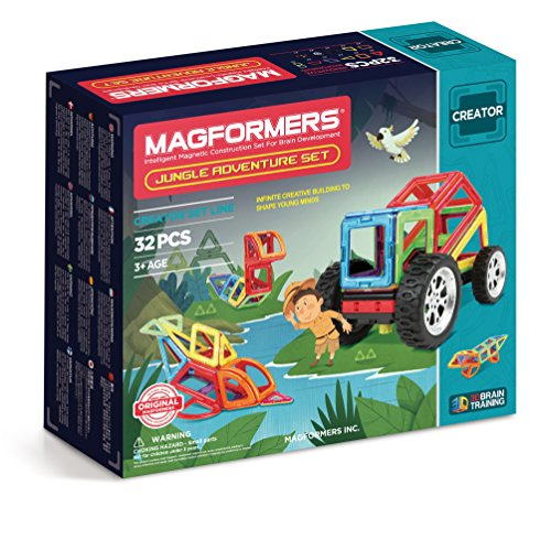 Magformers - Adventure Jungle Set (32 Piezas)
