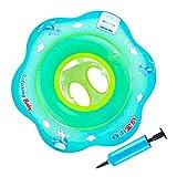 Huttoly Flotador para bebé, flotador para bebé, flotador de flotación, flotador para bebés, flotador de flotación para niños pequeños de 24 meses a 6 años, con 1 cámara de aire