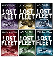 Jack Campbell The Lost Fleet 6 Books Collection Set, (Fearless, Dauntless, Valiant, Relentless, Courageous and Victorious)