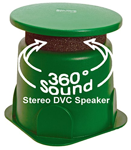 """TIC GS4 8"""" Outdoor Weather-Resistant Omnidirectional Dual Voice Coil (DVC) In-Ground Speaker (Single)"""