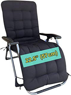 Four Seasons BeiJiaEr Series (Cushion ONLY) Extra Wide Cushion with Hood for Extra Wide Zero Gravity Chair Lounge Recliner Rocking (for Chair Seat Width : 22.5