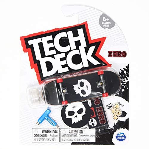 Tech-Deck Zero Skateboards Single Skull 2021 Complete 96mm Fingerboard