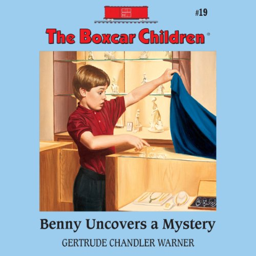 Benny Uncovers a Mystery audiobook cover art