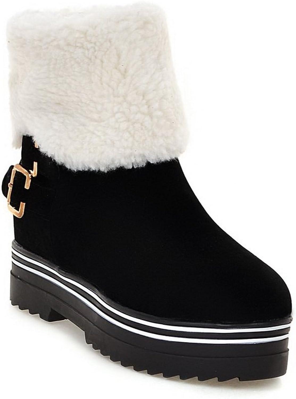Balamasa kvinnor Snow stövlar stövlar stövlar Low Heel Electroplate Heel Uretan stövlar ABB1636  handla på nätet
