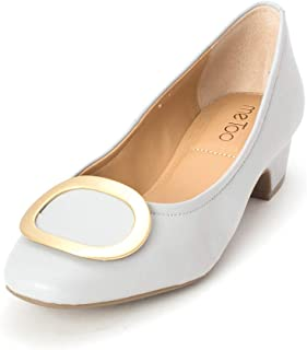 31a35db3a3e1 Me Too Womens Giada Leather Closed Toe Classic Pumps