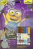 Crayola Color Alive - Kit de Loisirs Créatifs - Les Minions