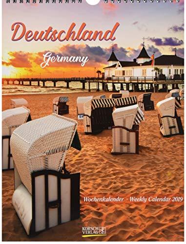 Deutschland Wochenkalender 244619 2019: Foto-Wochenkalender