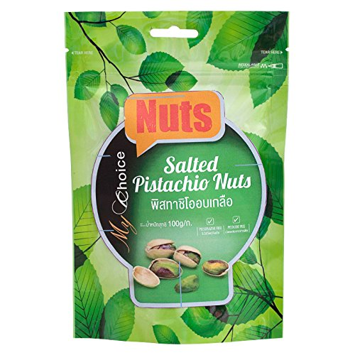 My Choice Nuts Salted Pistachio 100 Los Angeles Mall 1 g. of Fixed price for sale piece Pack