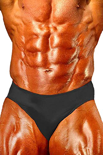 Andreas Cahling Bodybuilding Physique Classic Posieren Badehose - Schwarz - Large