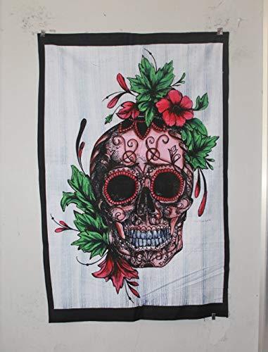 Marusthali Empire Merchandising GmbH - Poster con Mandala Indiano, in Cotone, Motivo Hippie