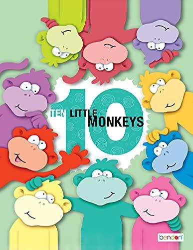 Ten Little Monkeys (English Edition)