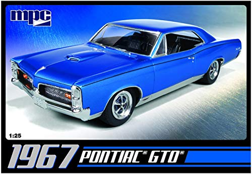 C.P.M. MPC MPC710R 1:25 Scale 1967 Pontiac GTO Model Kit