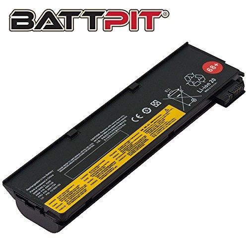 BattPit Laptop Battery for Lenovo 45N1136 0C52862 ThinkPad X240 X250 T440 T440s T450 T450s T460 T460p T470p T550 T560 L450 L460 - High Performance [6-Cell/4400mAh/48Wh]