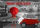 Oldtimer und Pin-Up Girls by Mausopardia (Wandkalender 2017 DIN A2 quer): Sexy Pin-Up Girls und kultige Oldtimer im Retro Style der 50er, 60er und ... (Monatskalender, 14 Seiten) (CALVENDO Kunst)