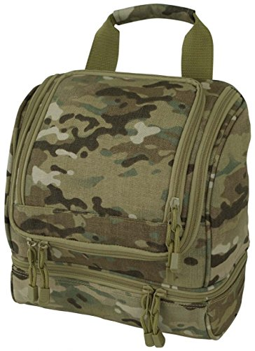 Code Alpha Tactical Gear Toiletry Kit, Multicam, 10in.x10in.x5in.