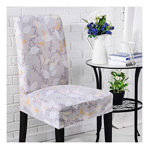 Universal Stretch Stuhlhussen,Abnehmbare Stuhlbezug Sitz Stuhl Esszimmer überzug Stuhlüberzu Abdeckungen Hussen für Husse Hotel Party Bankett Style4 Einheitsgröße