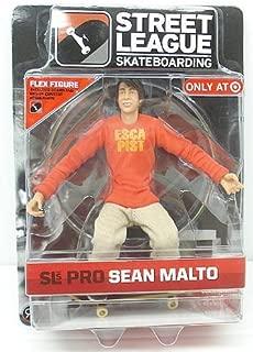 Street League Skateboarding Pro Sean Malto Flex Figure Series 1 Target Exclusive by Street League