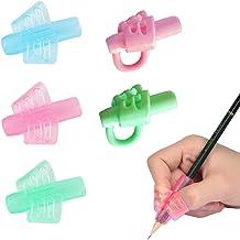 per bambini studenti colori assortiti Portapenne con impugnatura morbida in schiuma 10 pezzi SUPVOX