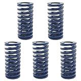 ALLNICE 5 Stücke 16 OD 35mm Lange Lichtlast Pressform Sterben Frühling Blau