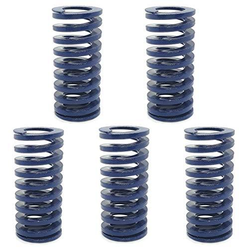 ALLNICE - Molle a compressione carico leggero, Blu 35 x 16 mm., 5