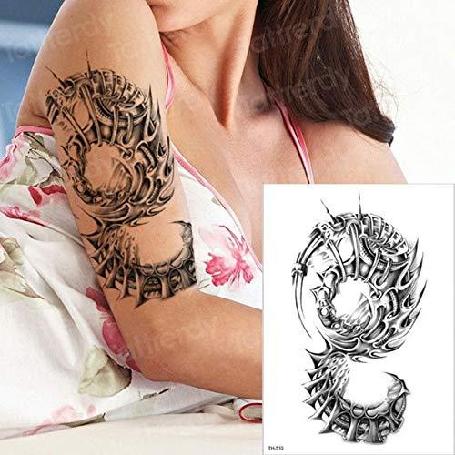3pcs Halloween Tatouage Body Art Tattoo 3pcs-11
